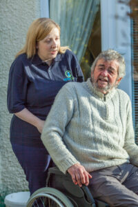 Eidyn Care Carer and Client