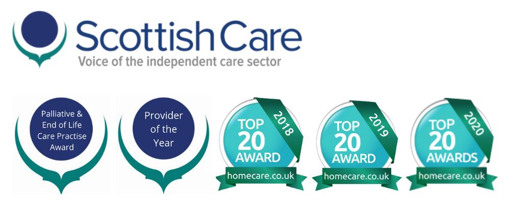 Scottish care award winner