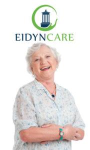 Happy lady eidyn care