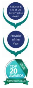 Awards Banner Top 20 Homecare