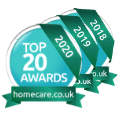 Homecare Provider 3 years in a row 2018 2019 2020