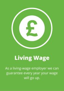 Living wage employer Eidyn care carers