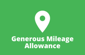 Generous Mileage Allowance