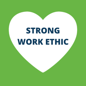 Strong work ethic for eidyn carers recruitment