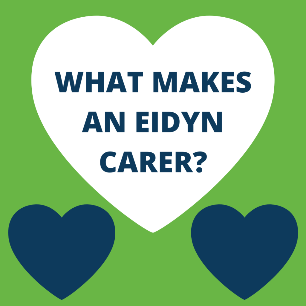 What makes an Eidyn Carer