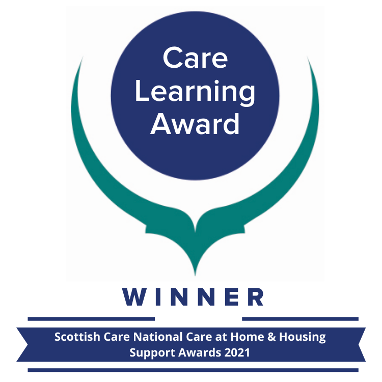 Home Care - Care Learning Award 21 Winner