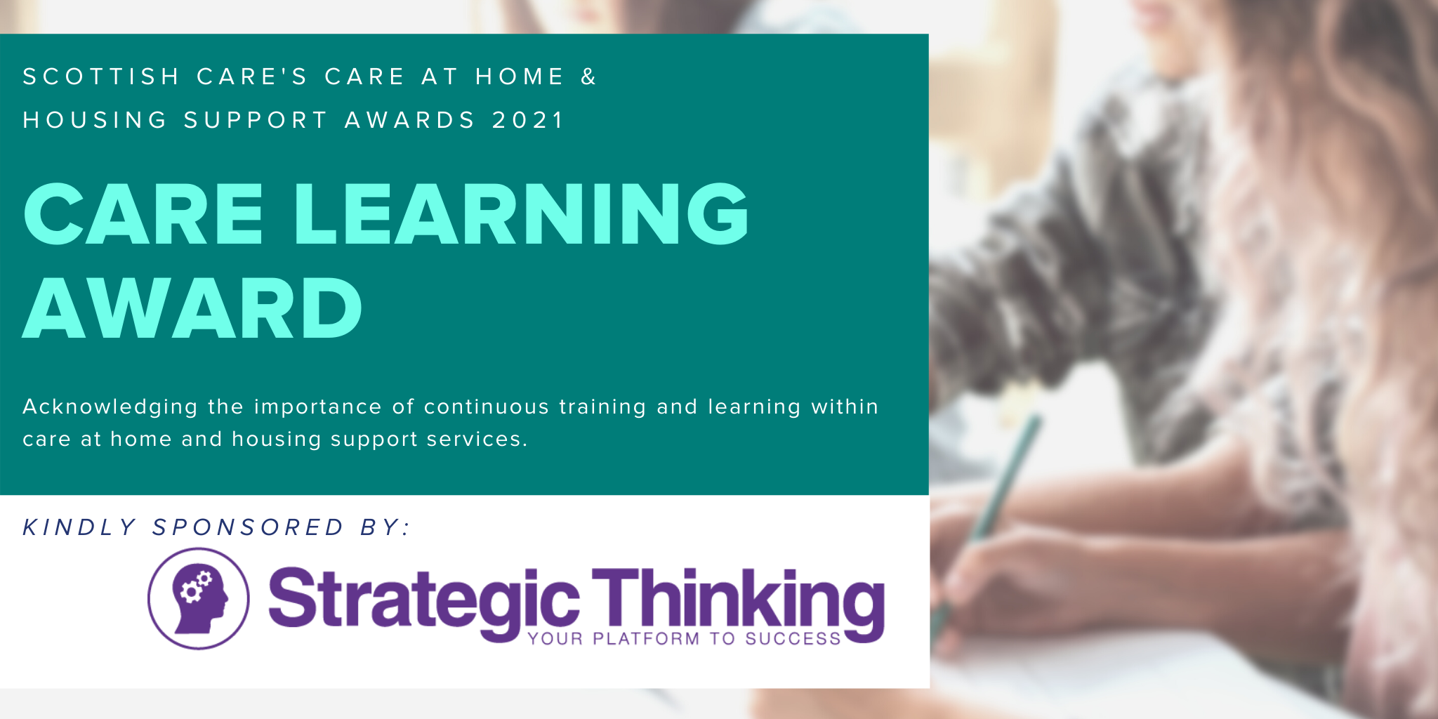Care at Home Care Learning Award